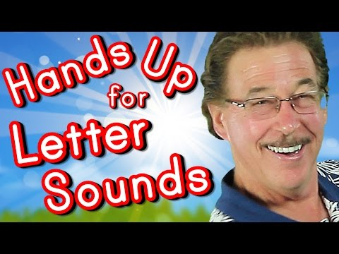 Hands Up for Letter Sounds | Phonics & Letter Sounds Song for Kids | Jack Hartmann