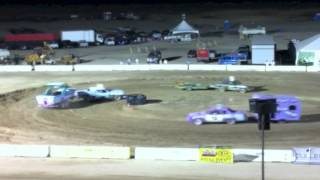 Antelope Valley Fairgrounds - Lancaster, California - Figure 8 racing action!