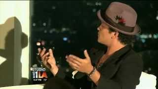 Bruno Mars interviews Quincy Jones