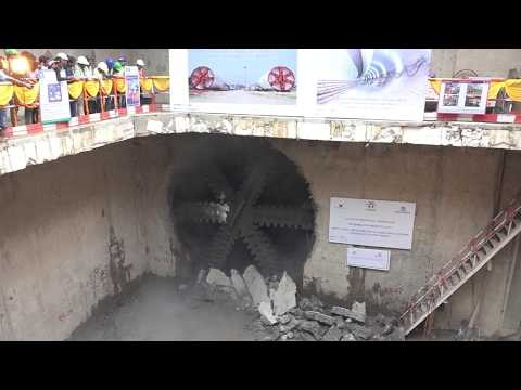 First Tunnel Breakthrough at Lucknow Metro Project thumbnail