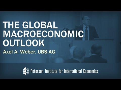 Axel Weber: The Global Macroeconomic Outlook