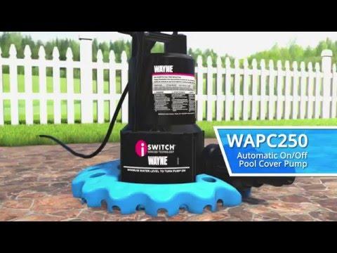 WAYNE WAPC250 Pool Cover Pump - YouTube