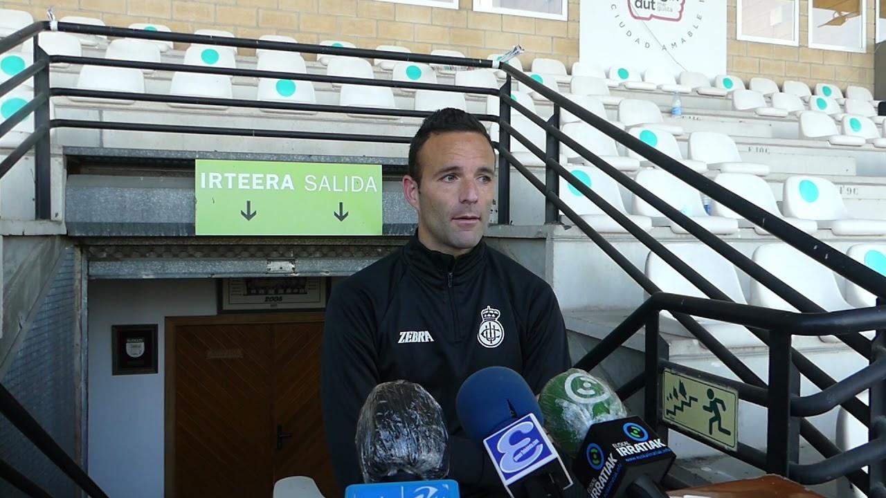 Borja Viguera. 3ª jornada 2ª fase, tras el encuentro Real Unión-Ebro