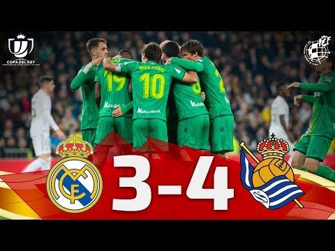 Copa Del Rey   Cuartos De Final Real Madrid CF 3-4 Real Sociedad