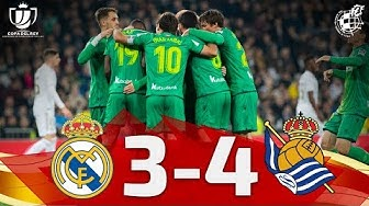 Copa del Rey | Cuartos de final|Real Madrid CF 3-4 Real Sociedad