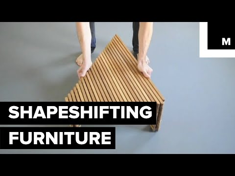 Hypnotizing Shapeshifting Furniture