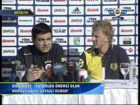 Dirk Kuyt Basın Toplantısı! FB TV 06.01.2013