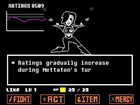 undertale how to fight in a paciifist run