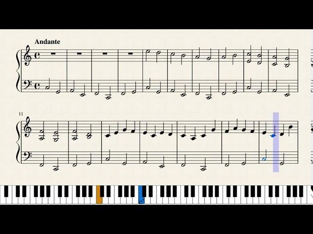 パッヘルベル カノン 楽譜