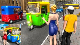 Off Road Modern Tuk Tuk Auto Rickshaw Driving Simulator - Android GamePlay #2