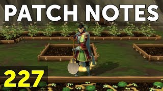 RuneScape Patch Notes #227 - 9th July 2018