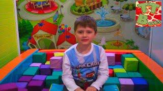 ВЛОГ Развлекательный центр для Детей с Горками и Батутами | Indoor Playground for Kids