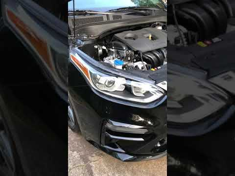 2019 Kia Forte Led Low Beam Headlight Replacement Youtube