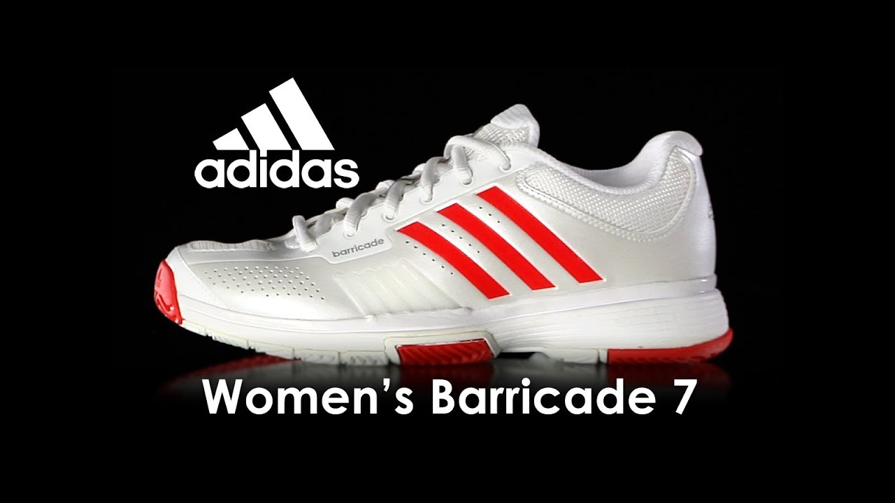 Adidas Barricade 7  mujer 's zapatos Review YouTube