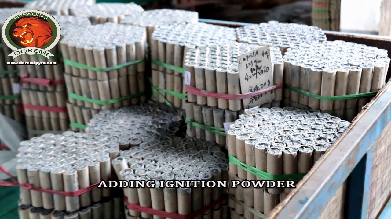 FULL PRODUCTION PROCESS FOR CAKE FIREWORKS/FIREWORKS TOUR/FIREWORKS FACTORY TOUR/CHINA FIREWORKS
