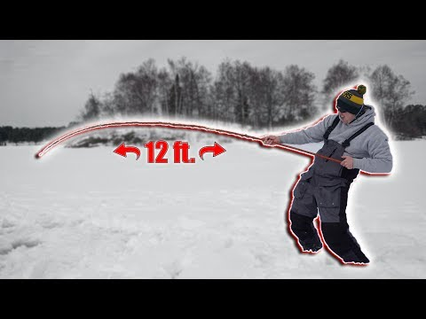 cane-pole-ice-fishing-challenge