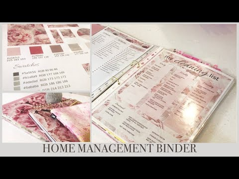 HOME MANAGEMENT BINDER 2018