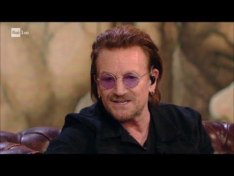Intervista agli U2. L'amicizia, la famiglia, l'amore - Che tempo che fa 10/12/2017