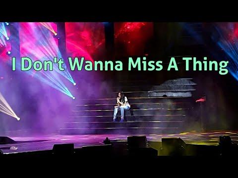 FRESH! Sarah Geronimos  of Aerosmiths I Dont Wanna Miss A Thing