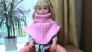 Вязание: манишка.