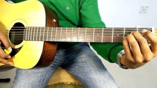 """DHAL JAUN MAIN - RUSTOM """"COMPLETE GUITAR COVER LESSONS/TUTORIAL"""" AND CHORDS"""