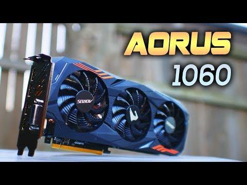 Gigabyte Aorus GTX 1060 Review - Are Aorus the Best?