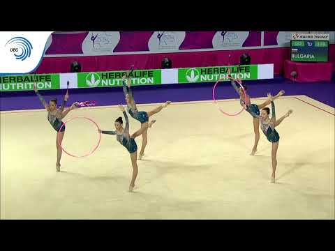 Bulgaria - 2016 Rhythmic Europeans, bronze medallists 3 club