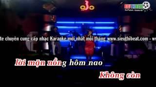 [Karaoke] Tàn Đêm Nay Em Sẽ Ra Đi - Hoàng Châu (DEMO)