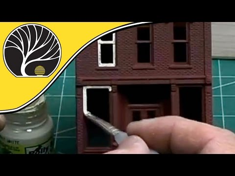 Painting the Building / DPM Kits – Part 8/21 – Woodland Scenics