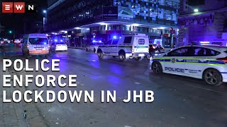 South African Law enforcement and private security guards spent the early hours of Friday morning telling people to get into their homes as the 21-day national lockdown began. The country will remain on lockdown for the next 21-days with supermarkets, pharmacies and health facilities remaining open.