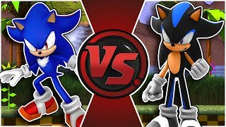 SHADIC vs SEELKADOOM! (Sonic: Nazo Unleashed DX vs SonicRPG) | Cartoon Fight Club