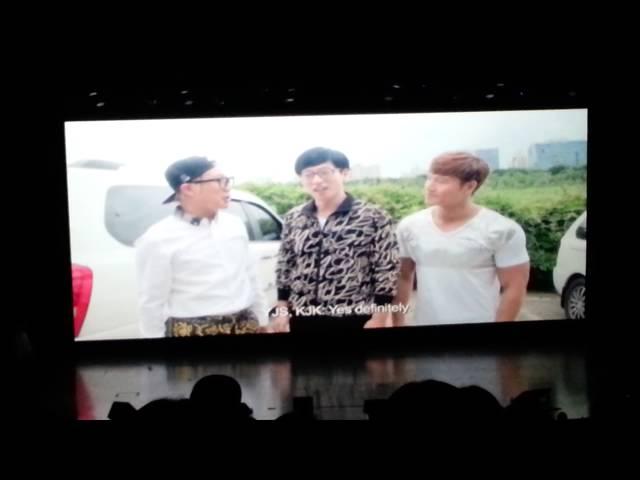 Congratulatory Message from Korean Celebrity - Lee Kwang Soo Fan Meeting in Singapore