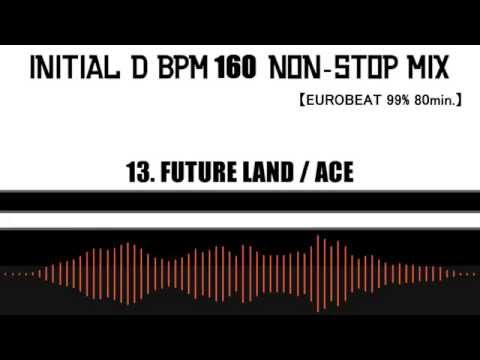 INITIAL D BPM 160 NON-STOP MIX 【EUROBEAT 99% 80min.】