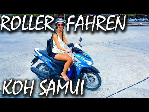 Mit dem Roller auf Koh Samui – Essen und Einkaufen – Thailand | VLOG #5