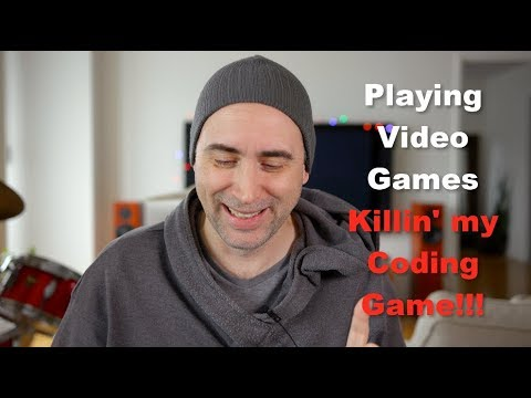 Download Youtube: Nooooo!!! Playing Video Games is Killin' my Code Learning Game!!!