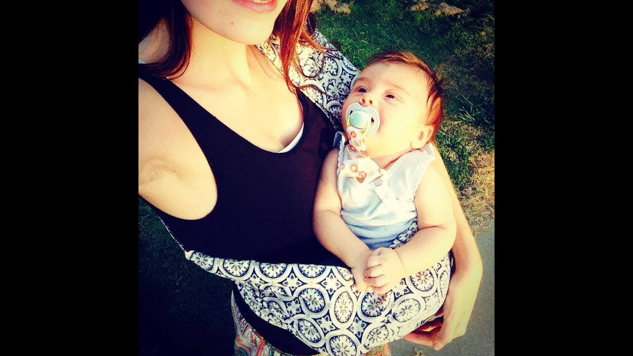 Look - How to hotslings wear baby sling video