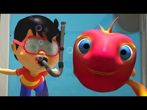 Machli Jal Ki Rani Hai | Hindi Rhymes For Kids | मछली जल की रानी है | Hindi Nursery Rhymes
