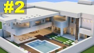 Minecraft Tutorial: Casa Moderna (7) parte 2