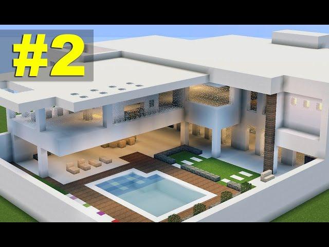 Casa moderna 7 nhltv net for Casa moderna in minecraft