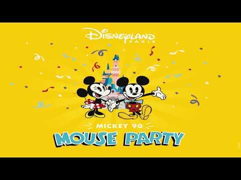 It's a Good Time - Mickey 90 Mouse Party -  Disneyland Paris - Lyrics