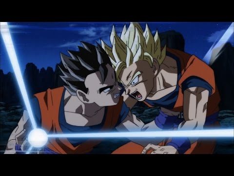 Dragon Ball Super | SSJ Blue Goku vs Gohan - Sparring Match [60fps]