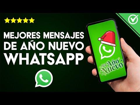 Las Mejores Cadenas, Mensajes, Imágenes y Videos de Año Nuevo para WhatsApp