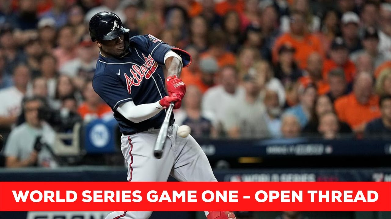 World Series Game Two - Open Thread