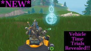 All Vehicle Time Trials In Fortnite Battle Royale Off The Hill