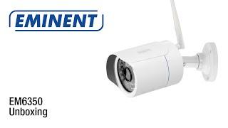 EM6350 CamLine Pro Outdoor 1080p Full HD IP Camera (Unboxing & Installatie)