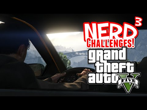 Nerd³ Challenges! Survive a Taxi Ride - GTA V