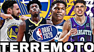 🟡EN DIRECTO: NBA DRAFT 2020 🔥 TRASPASOS💥Anthony Edwards, LaMelo Ball, Wiseman | KLAY THOMPSON lesión