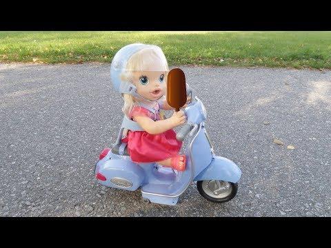 Куклы Пупсики В МАГАЗИН ЗА МОРОЖЕНЫМ Мультик Для детей Игрушки