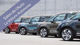 La voiture autonome (Salon de l'Auto de Geneve 2016)