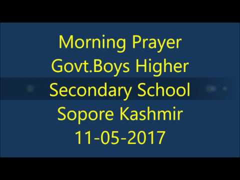 Govt.Boys Higher Secondary school Sopore